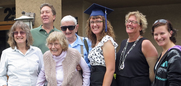 Elizabeth's graduation