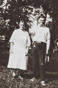 Josephine Rodgers and Izack, 1923