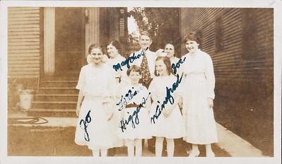 Josephine Rodgers, May, Chas, Jillian Higgins, Winfred Higgins, Zoe
