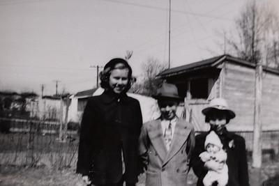 """""""Evie, Roger, Zoe-Ellen - In Grandma Grace's backyard"""""""