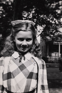 """Zoe Ellen - Our lovely daughter graduating from Watterson Elementary School W 74th & Detroit"""