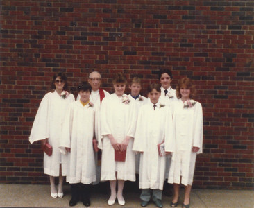 Dale's Junior High Graduation
