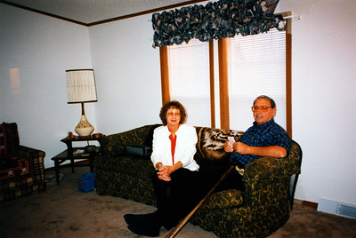 Marge and Bob at Kim's house