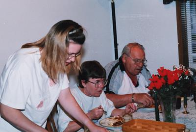 Mom and Dad at Bob's house