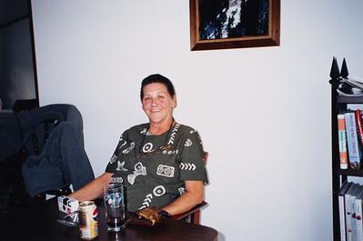 Janet McDonald at Bob's 60th b-day party