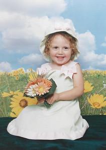 Haleigh McDonald, Age 3, April 2006