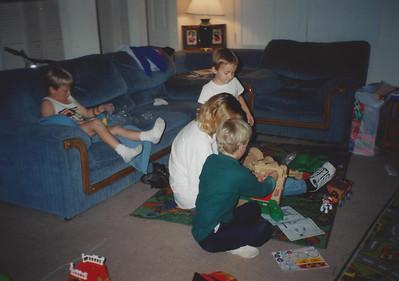 Quinten, Spencer, Jackie, and Remi McDonald