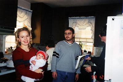 Jennifer, Amy, mom, Dale, and Dan