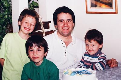 Dan, Dennis, Tim and David