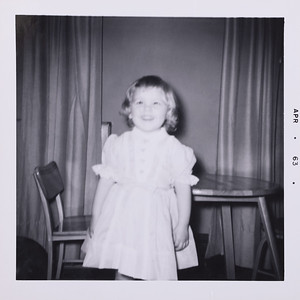 Susan's 3rd Birthday, 1/25/62