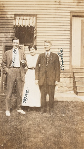 Albert, Mae, and Charles Rodgers