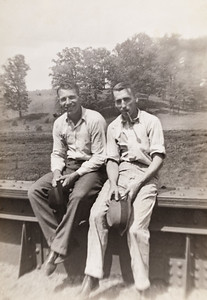 John Joseph McDonald (on right)