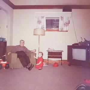 Dale and Grandpa Guy Swingle