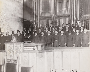 Joseph McDonald back row, first person on the left.
