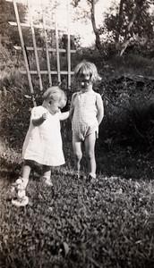 Zoe on the left