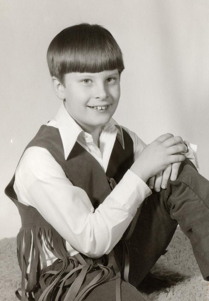 Tony Lee Glenn circa 1972