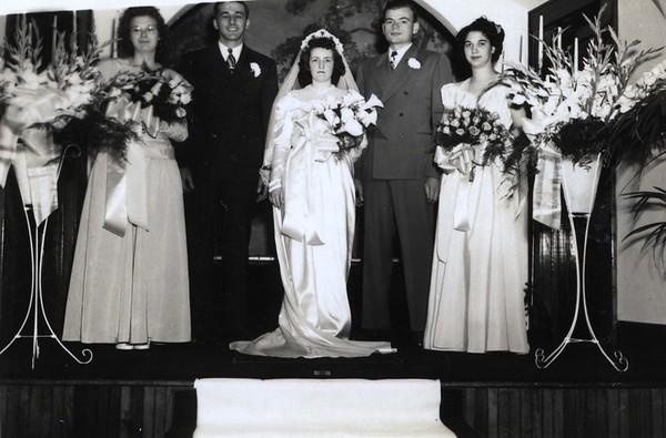 Janet Edberg, Bob Ericson, Patrica, Elwin, Doris York (McClure)