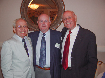 Dad at his 50th reunion at Gordon College with his best man and his roomate