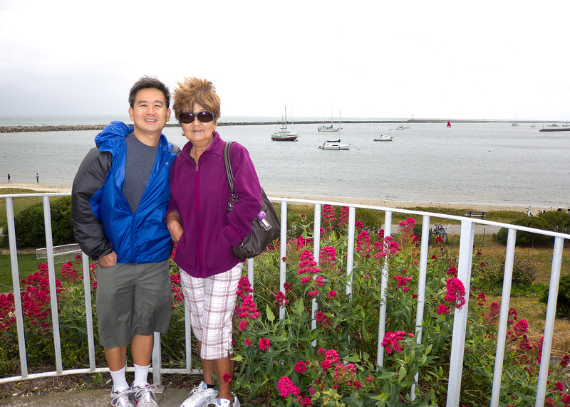Mom and me. Great photo Shalimar!