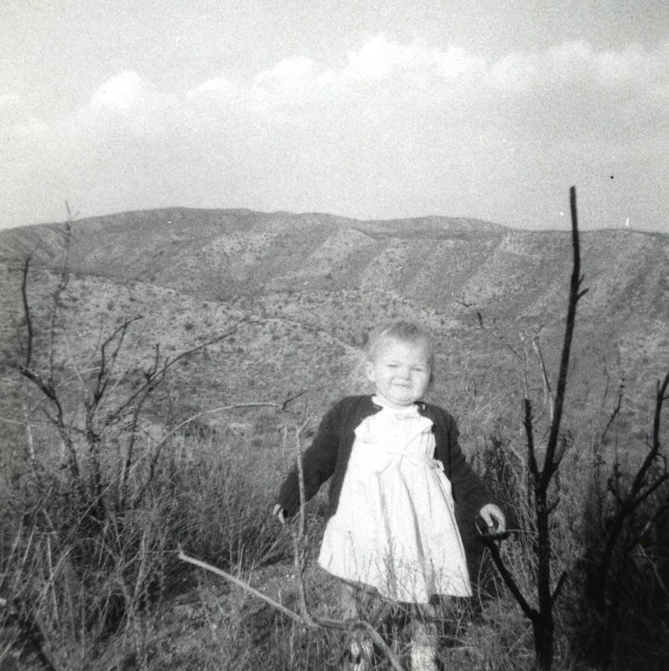 Taken in marsh near Redlands California in the foothills - 1951
