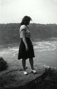 Niagara Falls - July 6, 1949 - Sunday - Goat Island