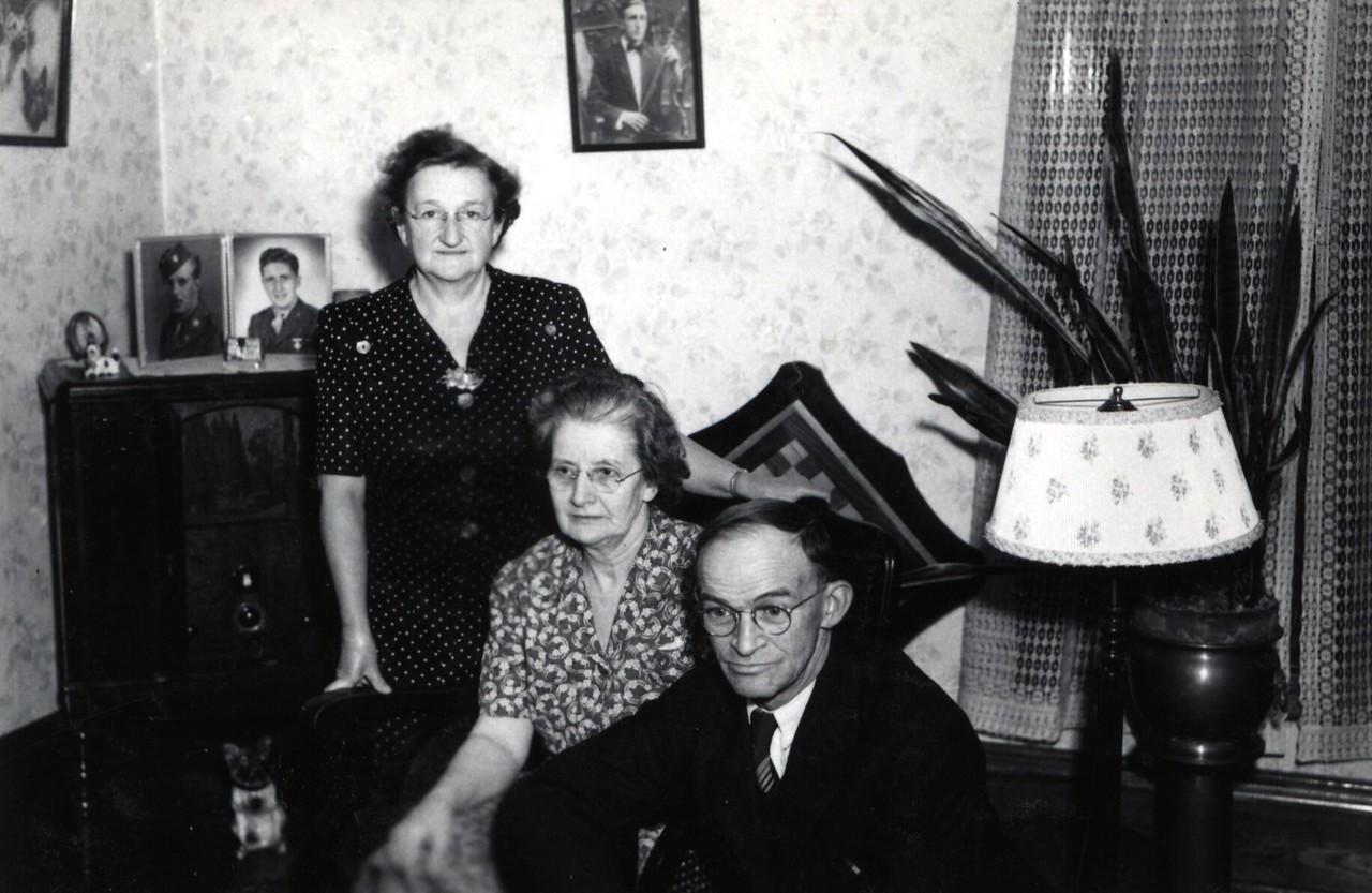 Frankie, Mary E Potwin (Grandma) and Judd