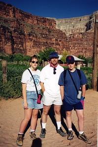 Erika, Jay, Allen Berry - 1995