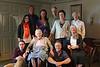 standing: Jesse, Chris, Hilary, Peter, Sidney, Mas<br /> seated: Gene, Betsy, Steve, Janet