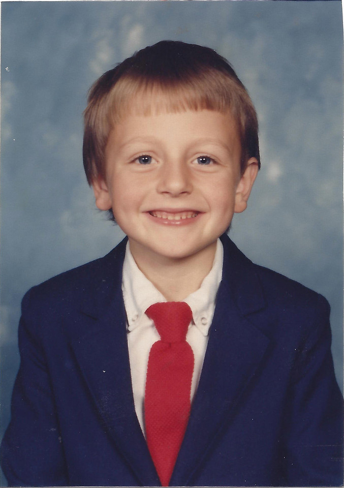 Dan McDonald 2nd Grade