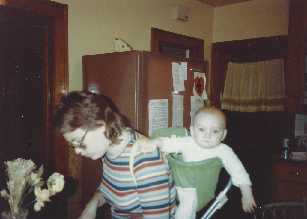 Susan and baby Beth