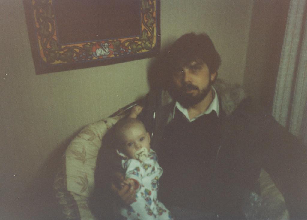Rod Tumino and baby Beth