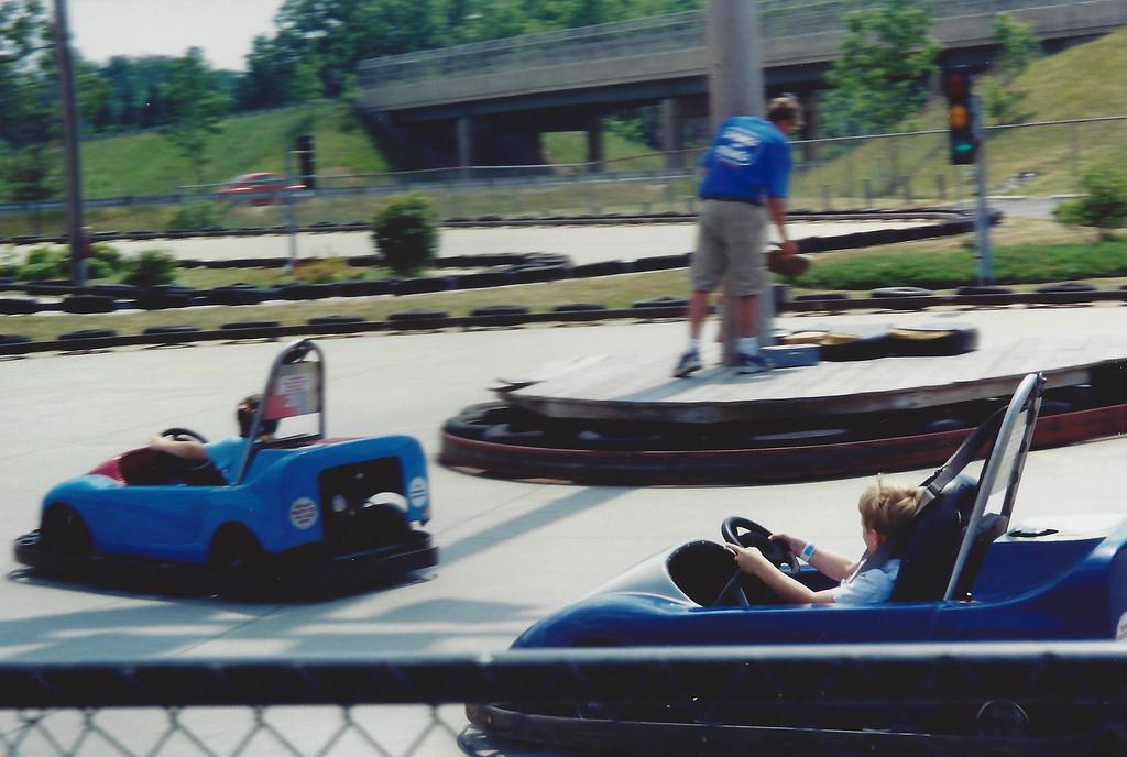 Remi racing away at Swings-and-Things