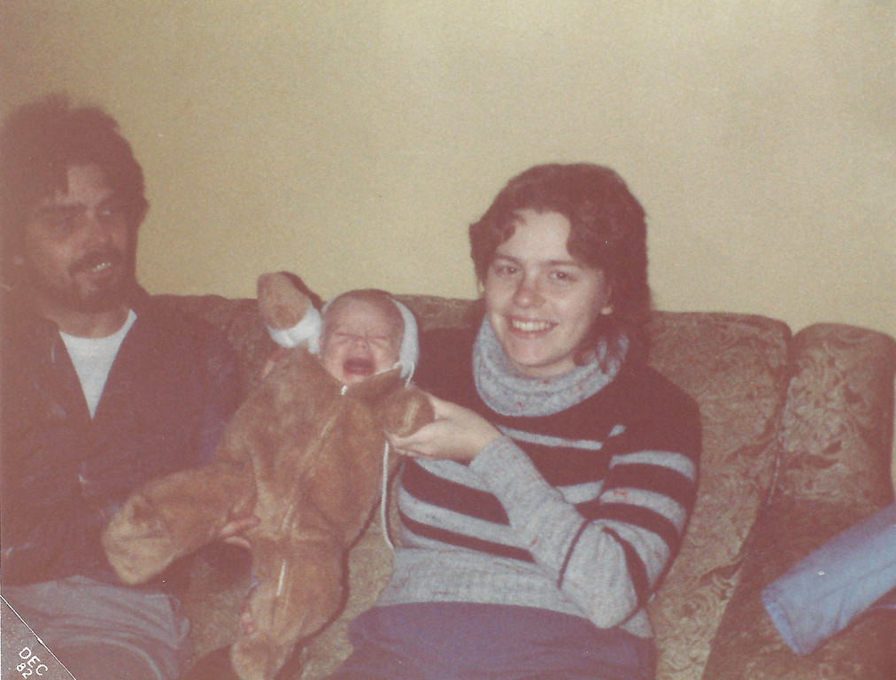 Rod, Bethany, and Susan - 1984
