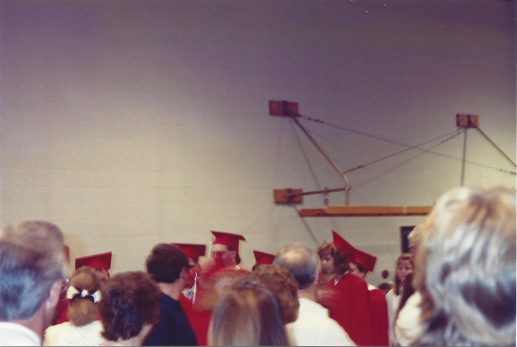 Dale's High School Graduation Ceremony