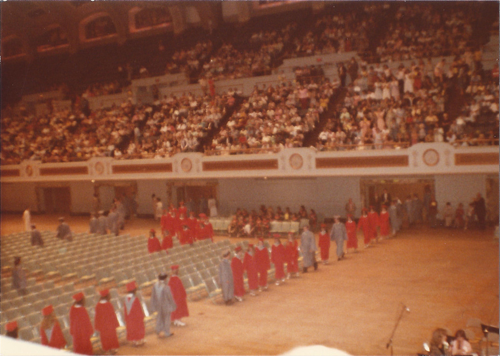 Dennis McDonald High School Graduation Ceremony