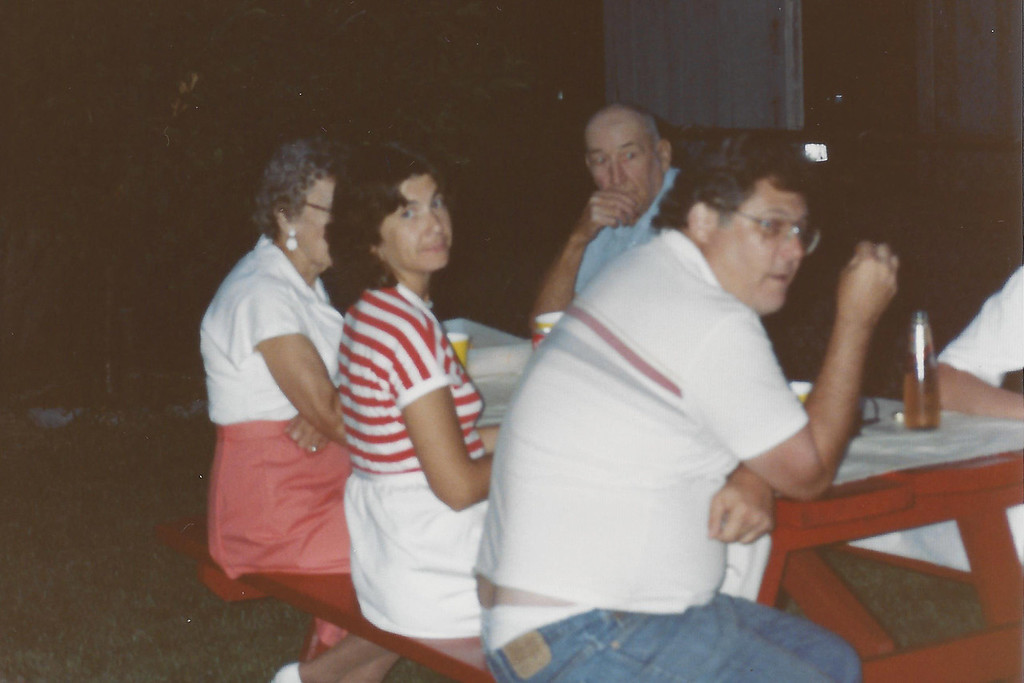 Nancy Dillon and John Byndas - I believe this was at Dale's High School Graduation Party.
