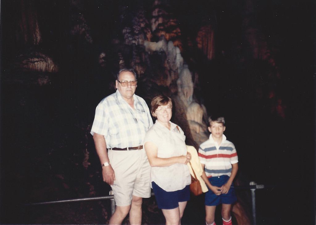 Vacation with Mom, Dad, and my friend Donald