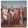 Tommy's family.  Back row-L-to-R: Tommy, Oscar (Tom's Dad), Charles (Tom's brother-in-law), Julis (Oscar's brother), Raymond (brother-in-law).  2nd row - L-to-R: Janet, Jackie (Tommy's mom), Peggy (sister), Mary (Aunt), Mary Lou (sister).  The kids: Charity & Hope are Peggy's kids.  Troy is Mary Lou's boy