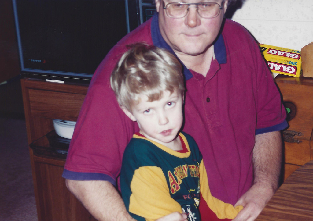 Remington and Grandpa (Jim Byndas)