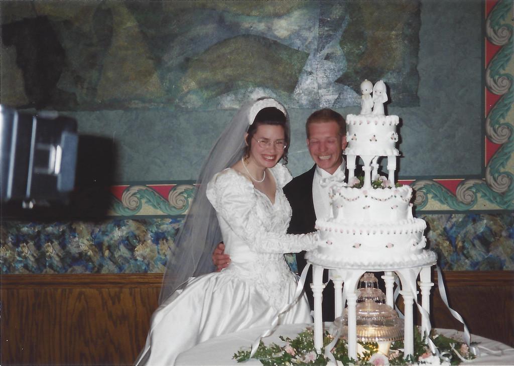 Kim Thompson (McDonald) and Dale Thompson's Wedding
