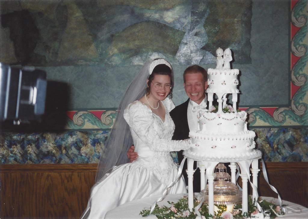 Kim Thompson (McDonald) and Dale Thompson's Wedding