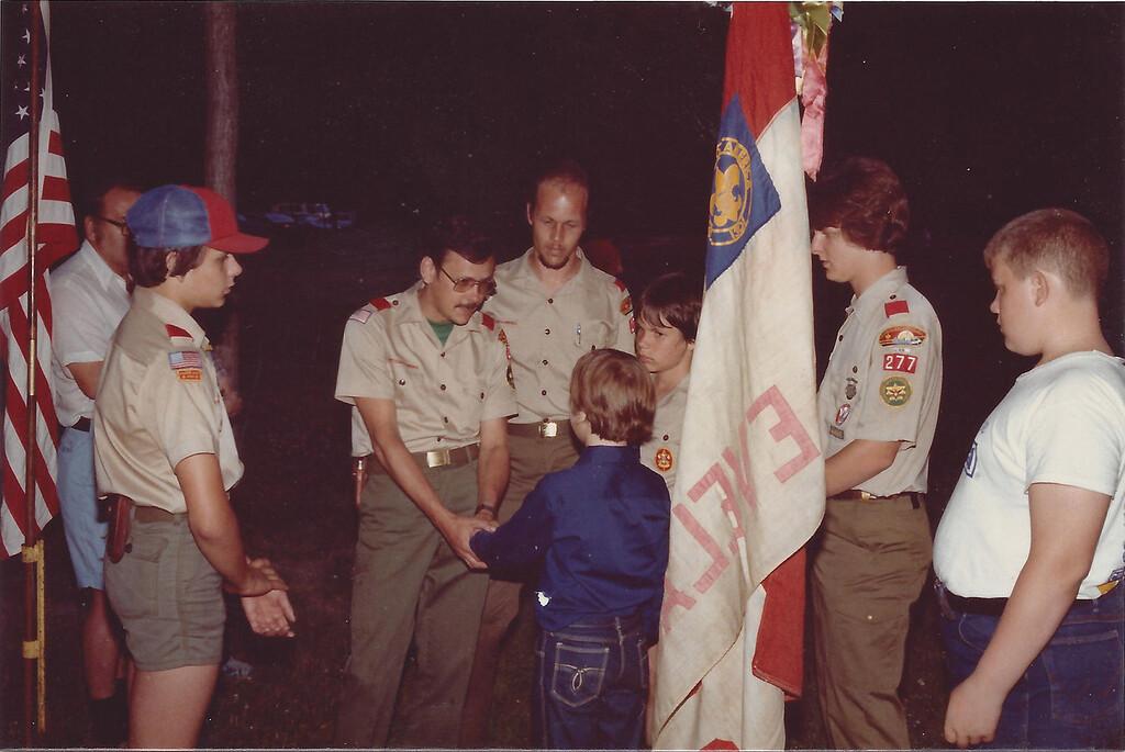Dale McDonald - cub scouts