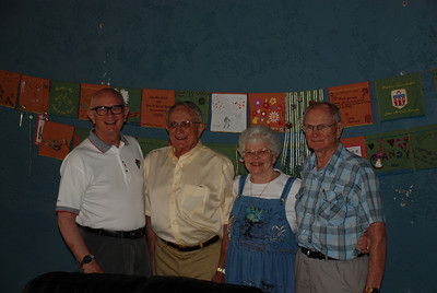 Uncle Bill, Uncle Kreg, Mom, and Uncle Don