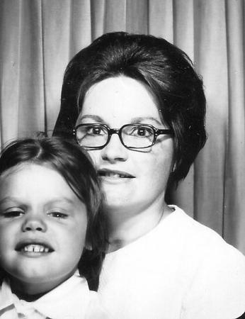 Billie and Lynne - 1972