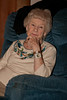Mom in the infamous Blue Chair<br /> 22-Nov-2012