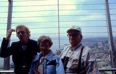 Steve, Blanche andGlen Ovard