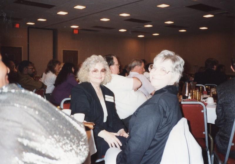 Billie and Barbara at Nashville Convention