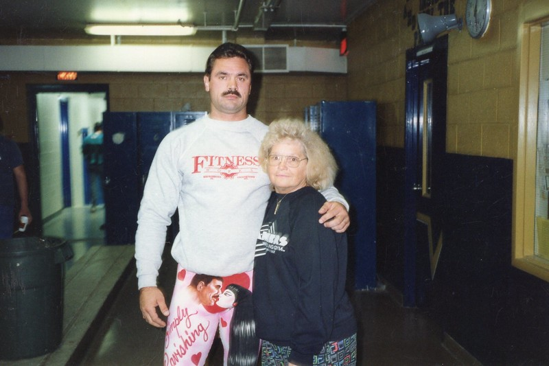 Rick Rude and Billie - 1991