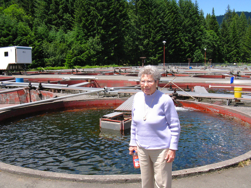 At the Marion Forks Fish Hatchery 2011