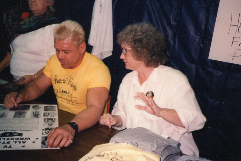 November 12, 1988 - Ronnie Garvin, Ronnie's Mother, and Billie.  Richlands, VA